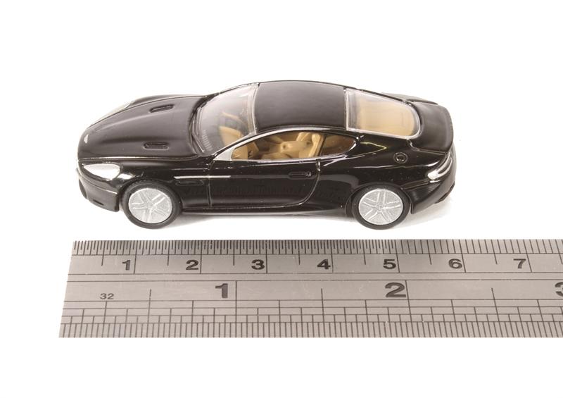 Aston Martin DB9 Coupe Onyx Black 1-76 Scale Mib 76AMDB9002