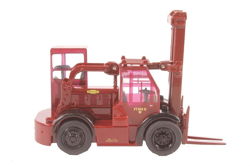 Crimson Oxford Diecast 76SDF002 Shelvoke /& Drewry Freightlifter British Rail