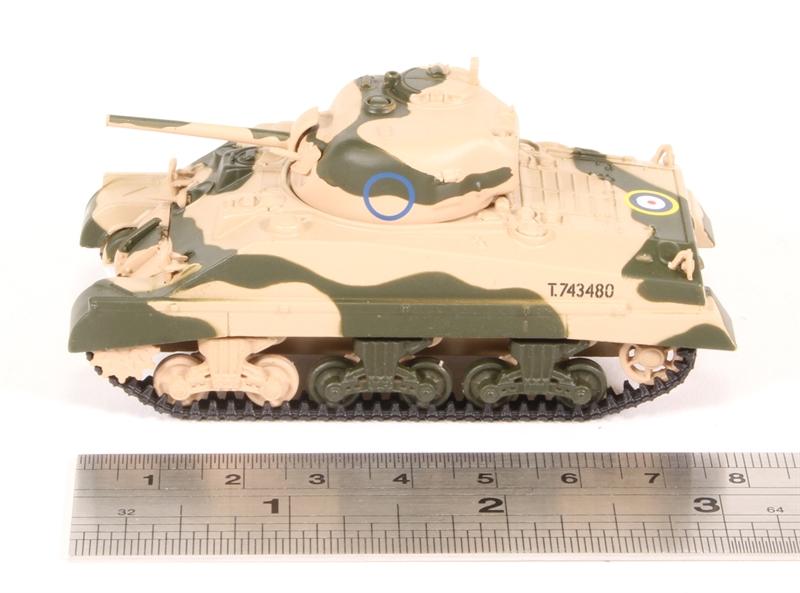 Oxford 1:76,NEU 3//18/& SM001 Sherman Tank MkIII 10th Armoured Div.,8th Army,1942