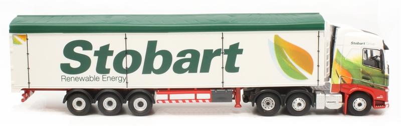 76VOL4010 Eddie Stobart Renewable Energy NEW * Oxford Diecast Volvo FH4