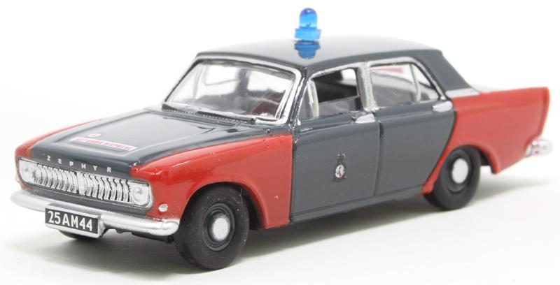 Oxford 76ZEP011 00 PKW Ford Zephyr Bomb Disposal