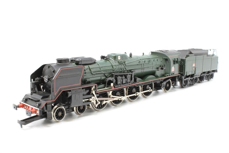 Jouef 4 locomotive buffers