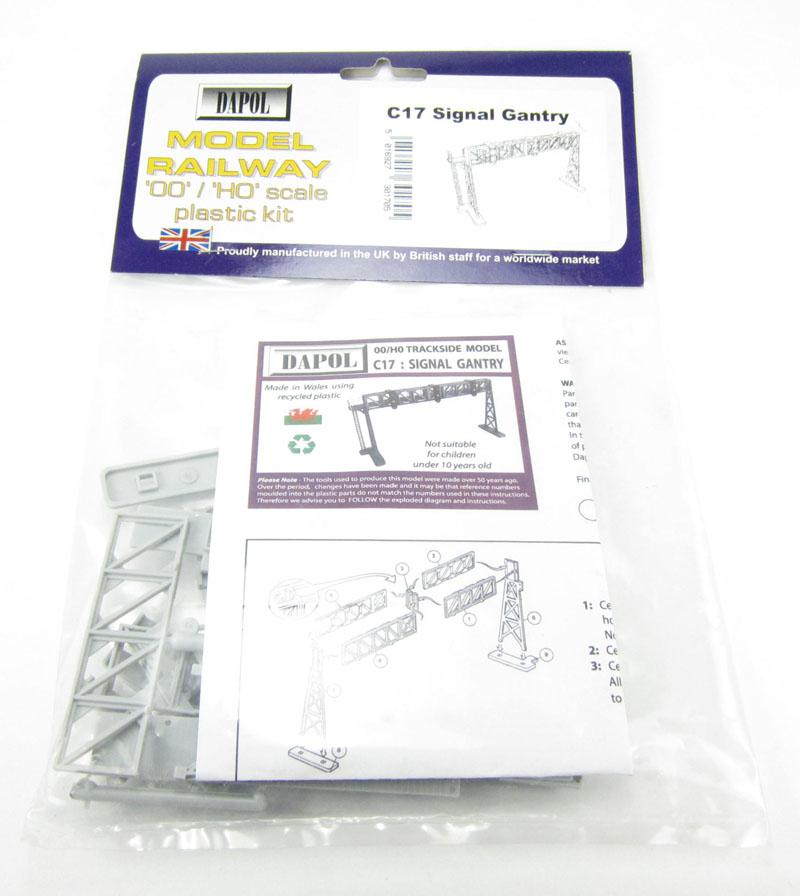 Dapol SIGNAL GANTRY 1//76 Scale scenery Kit 00//HO C17