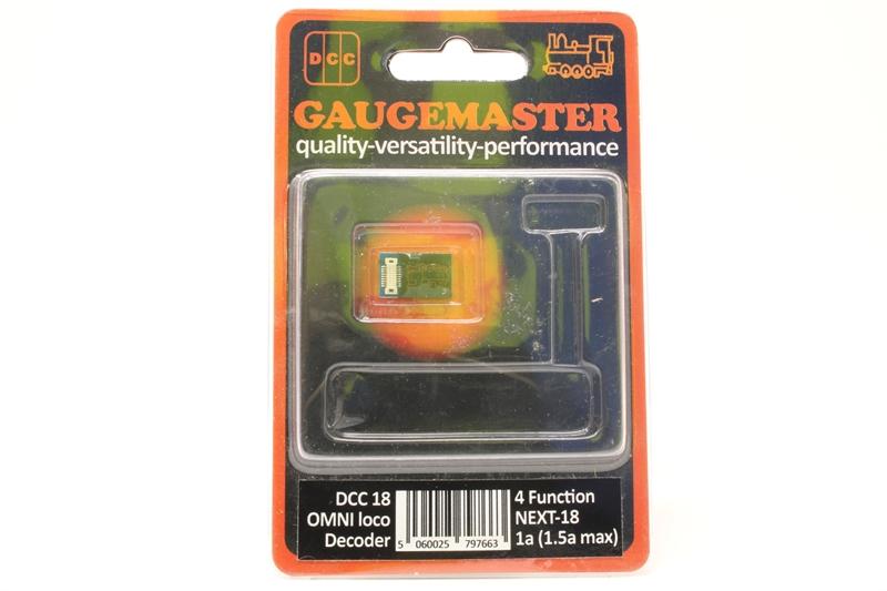Gaugemaster DCC18 Omni Next18 Decoder