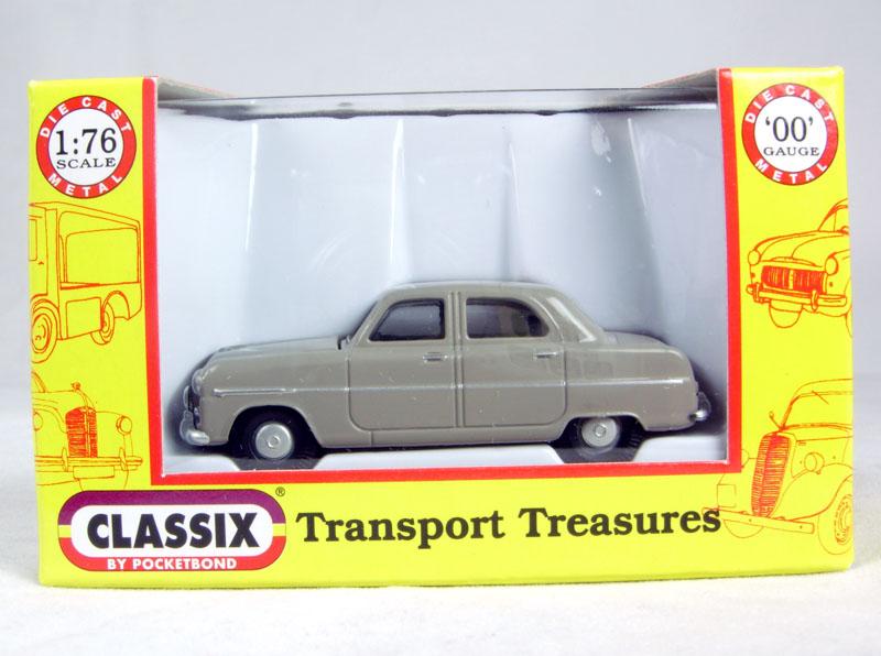 NEW Classix 1:76 Transport Treasures EM76802 Ford Mk 1 Zephyr Six Beige