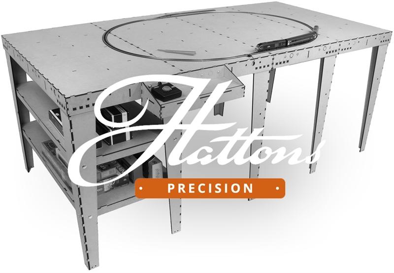www.hattons.co.uk - Hattons Precision HAT-BB-Backscene4-M Hattons Baseboard kit 4
