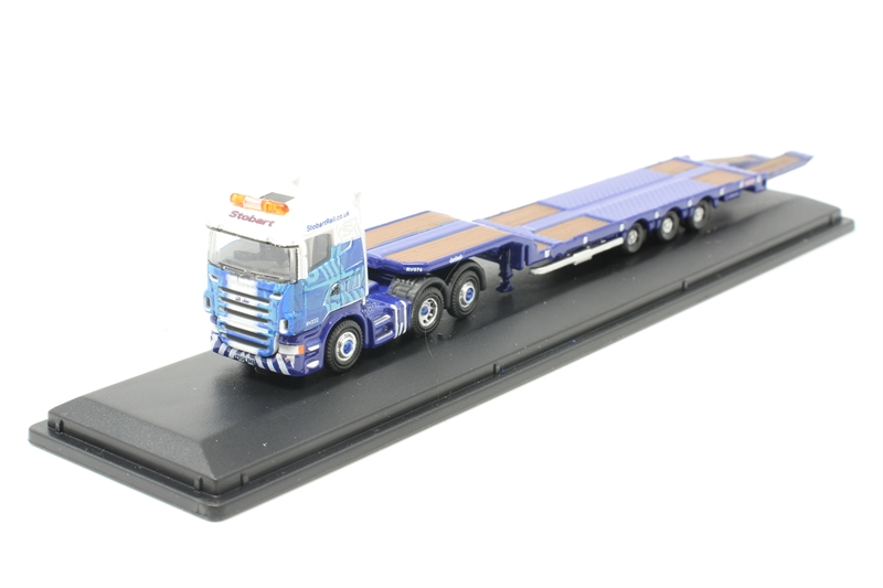 Oxford nshl 03tk-Camion Scania Highline pétrolier Eddie Stobart-PISTE N-Neuf