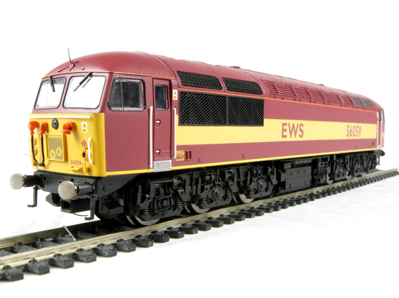Hornby X9669 Class 59 Underframe Chassis