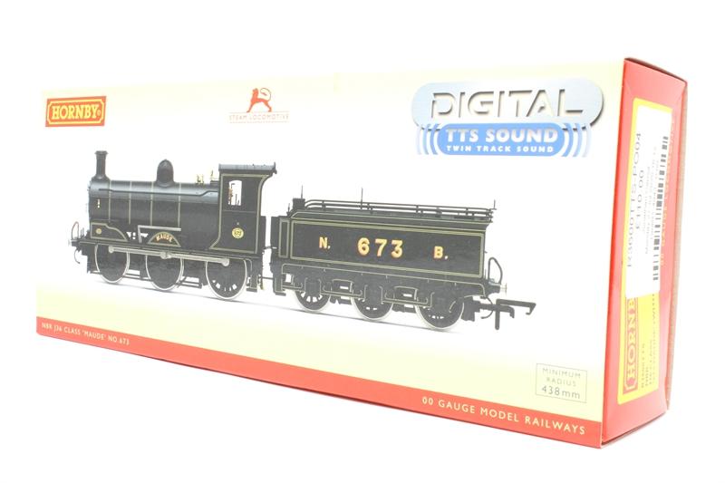 Era 7 673 /'Maude/' with TTS Sound J36 Class 0-6-0 Hornby R3600TTS NBR