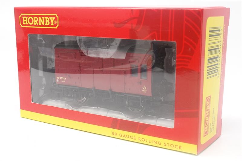Hornby R6679 BR Horse Box /'M42369/' Red