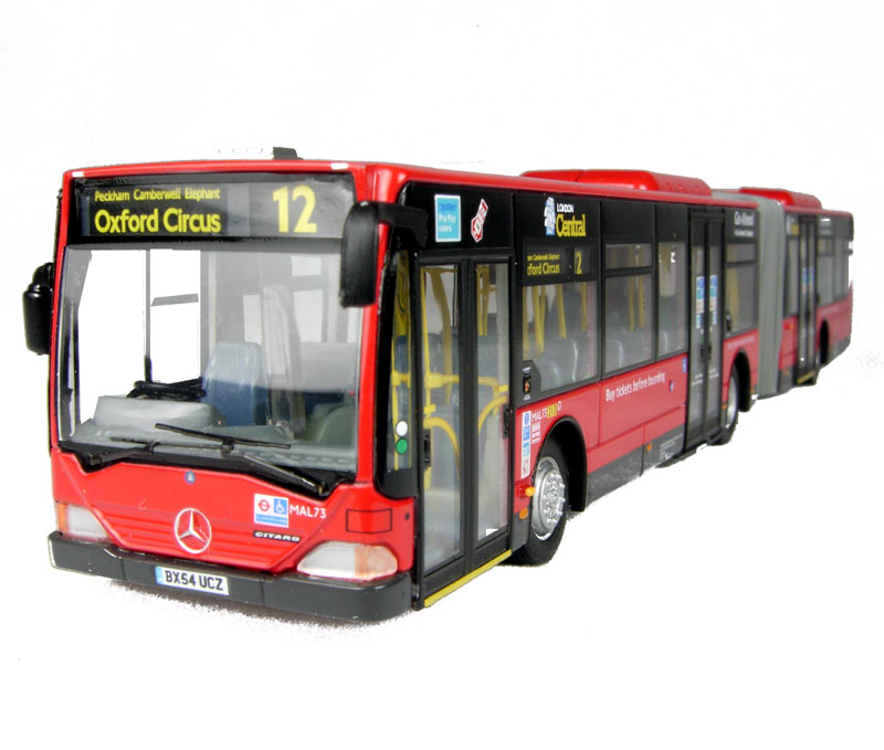 Www Hattons Co Uk Creative Master Northcord Ltd Uk5110 Mercedes Benz Citaro Articulated Bendy Bus London Central