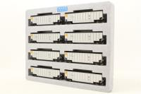 Kato 106-4604-PO04 Pack of eight BethGon Coalporter wagons of the Union Pacific Railroad - Pre-owned - Good box