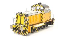 Heljan 2930-PO13 Class 07 shunter 07001 in Harry Needle Railroad Company livery - Exclusive to Hattons Model Railways - Pre-owned - Damage to valve gear to one side -  Like new box