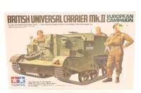 Tamiya 35175TAM-PO02 British Universal Carrier / Bren Gun carrier MkII with 3 figures - Pre-owned - Very good box
