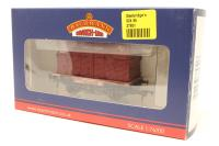 Bachmann Branchline 37-951-PO29 Conflat wagon with BD container in BR crimson B705549 - Pre-owned - Very good box