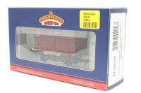 Bachmann Branchline 37-951D-PO24 Conflat wagon with BD container in BR Crimson. - Pre-owned - Good box