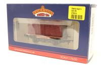 Bachmann Branchline 37-951D-PO25 Conflat wagon with BD container in BR Crimson. - Pre-owned - Very good box
