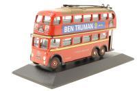Atlas Editions 4655104-PO24 Q1 trolleybus - London Transport - Pre-owned - Good box