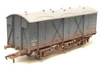 Dapol 4F-014-008-PO04 Fruit D van W38107 in BR blue - weathered - Pre-owned - Very good box