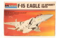 Monogram 7580MON-PO F-15 Eagle - Pre-owned -Fair box