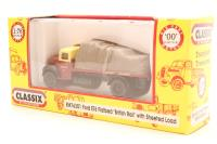 """Pocketbond """"Classix"""" EM76301-PO14 Ford Thames ET6 flatbed with sheeted load in """"British Railways"""" livery - Pre-owned - Very good box"""