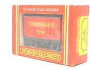 Hornby R147-ClosedVan-PO05 Hornby Railways 1994 Closed Van - Pre-owned - Good box