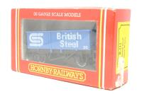 Hornby R211-Steel-PO34 British Steel Open Wagon 20 - Pre-owned - Good box