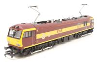 """Hornby R2354B-PO04 Class 92 92031 """"Institute of Logistics and Transport"""" in EWS Tunnel maroon livery - Pre-owned - Very good box"""