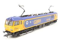 Hornby R3135-PO05 Class 92 92032 in GBRf livery - Pre-owned - Like new box