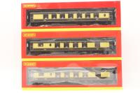 Hornby R4582-PO17 1960s Brighton Belle 3 car pack in Pullman umber and cream livery - Pre-owned - Very good box