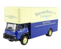TELEVISION RENTALS LTD Details about  /HORNBY SKALE AUTOS 1:76 SCALE BEDFORD BOX VAN R7013