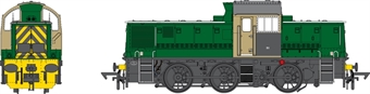 1414 Class 14 No.21 in S&L Buckminster Quarries green