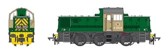 1420 Class 14 Train pack with D9553 in BR green and four 'Dogfish' wagons in BR black