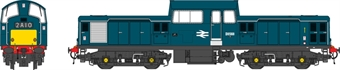 1724 Class 17 D8568 in BR blue with small yellow panels - as preserved