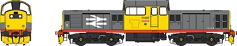 1728 Class 17 17007 in Railfreight grey with red stripe