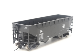 18885ATL-PO01 2-Bay offset side hopper #10301 of the Jersey Central - Pre-owned - Very good box