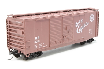 1944Boxcar-CBTS-PO01 1944 AAR 40' boxcar - Pre-owned - Assembled kit - Good box