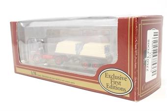 "22601-PO08 AEC Ergo Artic flatbed ""Spiers of Melksham"" - Pre-owned - good box"