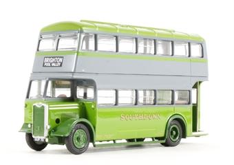 "26325 Guy Arab II utility bus ""Southdown"" WWII livery"