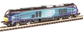 """2D-022-007 Class 68 68001 """"Evolution"""" in DRS livery"""