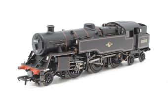 32-354-PO31 Standard class 4MT 2-6-4 tank 80002 in BR lined black with late crest - Pre-owned - DCC fitted-  one buffer missing - glue marks and worn paint around lamp brackets - good box