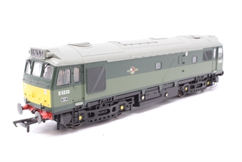 32-411-PO25 Class 25/2 D5233 in Two Tone BR Green with Roof Headcode - Pre-owned - Very good box