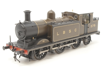 35-075-PO31 Class E4 Brighton tank 0-6-2 579 in LB&SCR umber - Pre-owned - fitted with screw-link couplings and crew - Very good box