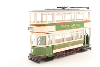 36702COR-PO08 Double Deck Closed Tram 'Dundee Corporation' - Pre-owned - Good box