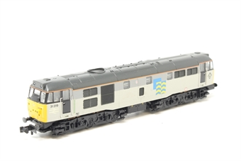 371-136-PO Class 31/1 31319 in Railfreight Petroleum sector triple grey - Pre-owned - Like new box