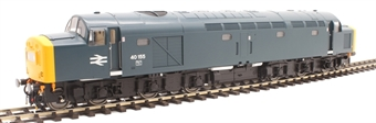 4064 Class 40 40155 in BR blue with centre headcode panel
