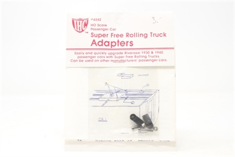 4242IHC-PO03 Super free rolling truck adapter (for use with Rivarossi 1930 & 1940 passenger cars) - Pre-owned - Factory sealed bag