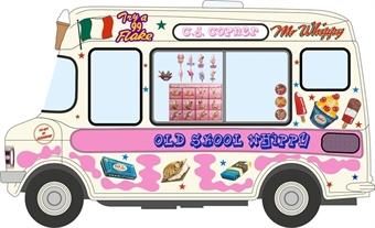 43CF005 Bedford CF Ice Cream Van C J Copner