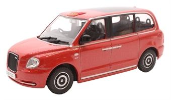 43TX5002 LEVC TX Taxi - Tupelo Red