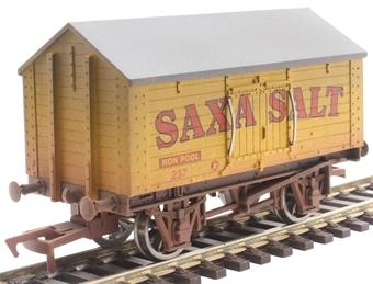 """4F-018-103 4 wheel salt van """"Saxa Salt"""" - 237 - weathered"""